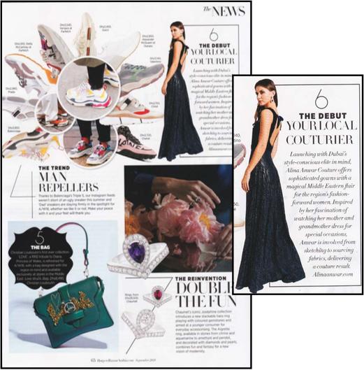 Harper's Bazaar Arabia September 2018